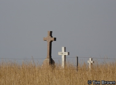 Graves from the battle of Spionkop
