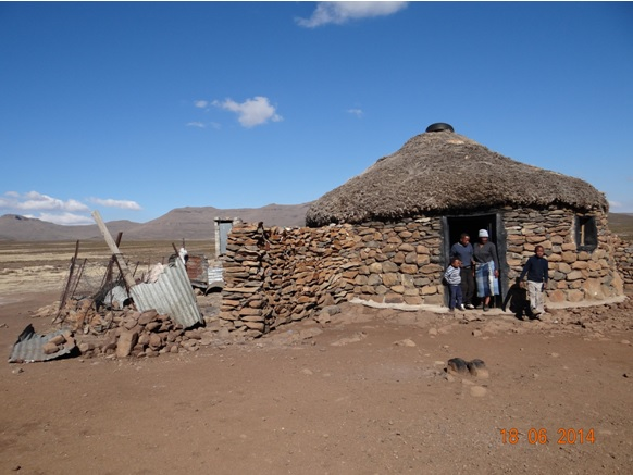 Basotho Hut where we visit on our Durban Day Tour to Sani Pass Drakensberg 18th June 2014
