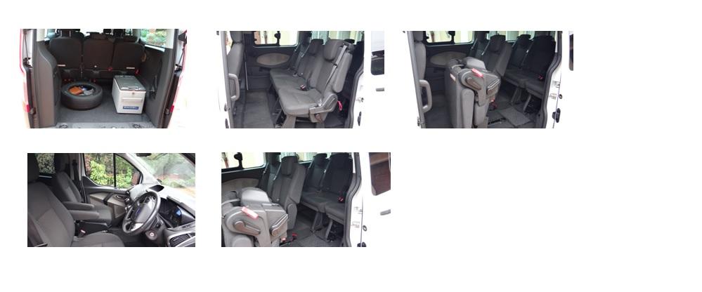 Interior; Ford Tourneo