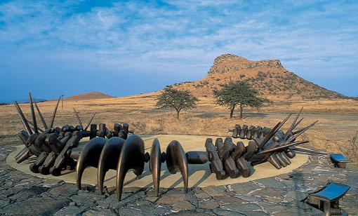 Isandlwana Memorial monument