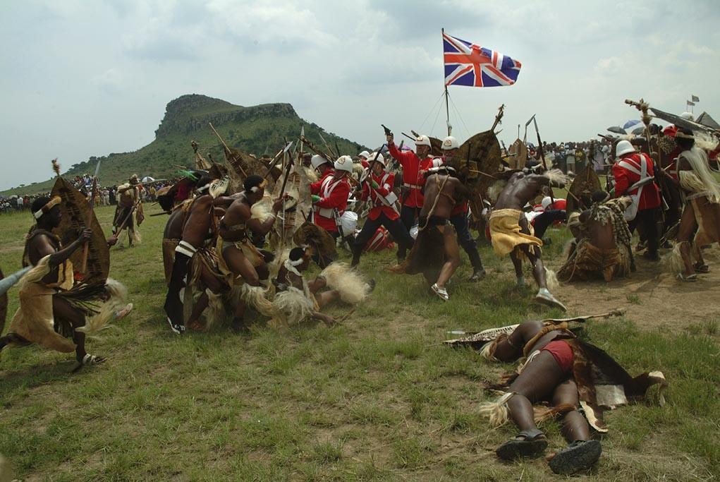 Isandlwana Depiction of the Battle