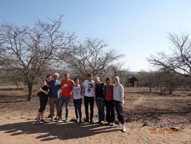 Durban Day Safari Tour to Hluhluwe Imfolozi Game reserve Group Photo 5 July 2014