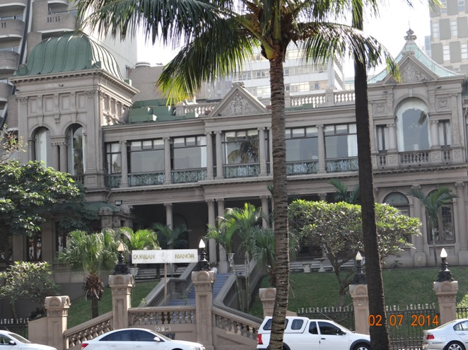 Durban Manor Hotel on our Durban City Tour 2 July 2014
