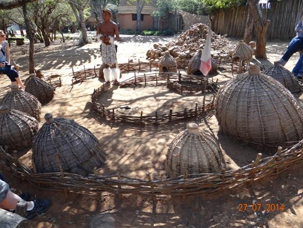Structure of a Zulu Home Stead - Umuzi