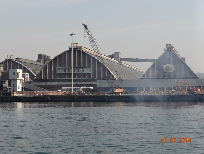 Sugar Terminal at Durban harbour on our Durban City Tour 2 July 2014