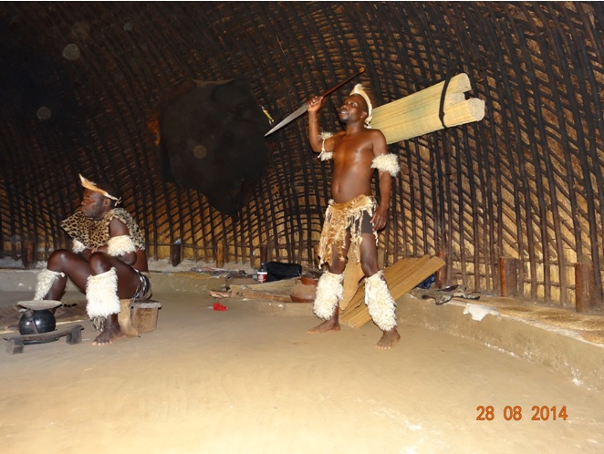 The Assagai invented by the great King Shaka for close combat