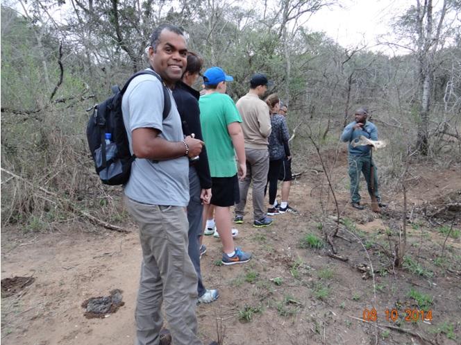 Walking Safari in Hluhluwe Imfolozi game reserve