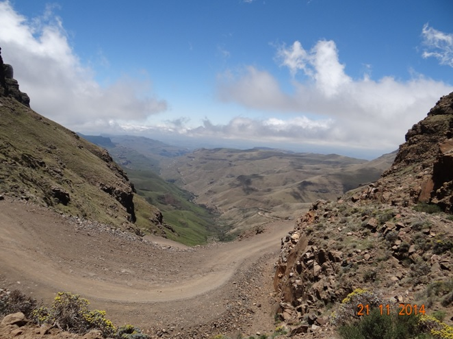 View from the top of Sani Pass in the Drakensberg during our Durban Day Tour