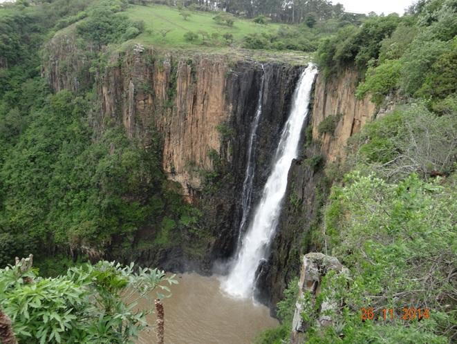 Howick falls near Mandela capture site