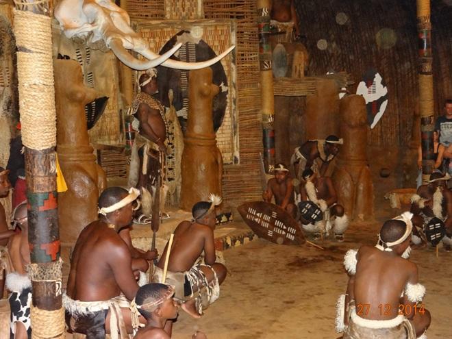 Traditional Zulu dancing