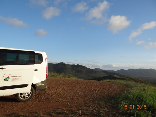 Durban 3 day safari tour; Rolling hills of Hluhluwe