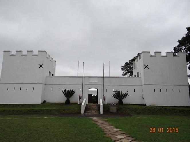 Durban safari tour in KwaZulu Natal; Fort Nongqayi