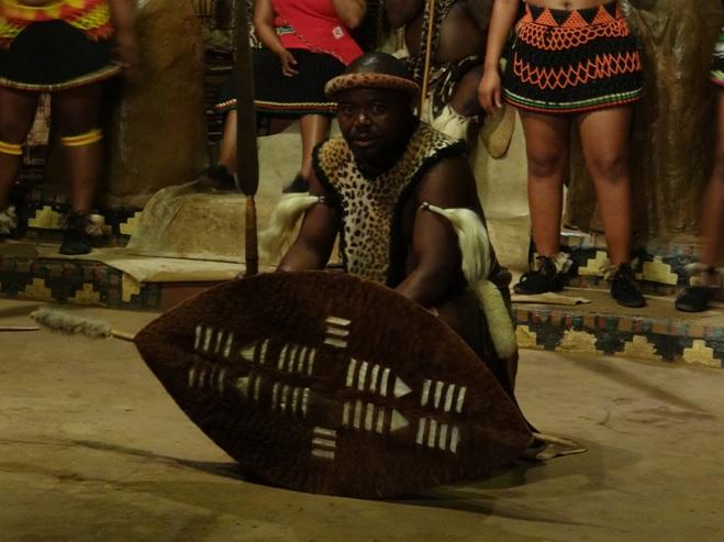 Durban safari tour in KwaZulu Natal; Shakaland dancer