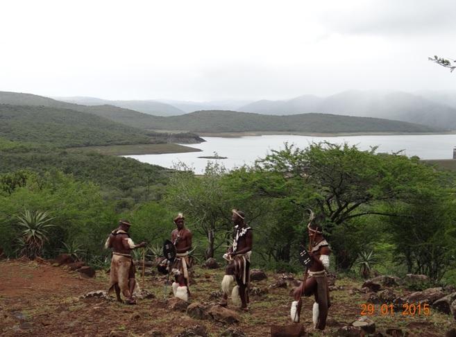 KwaZulu Natal safari tour from Durban; Zulu men