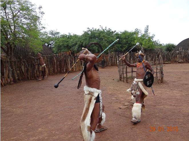 KwaZulu Natal safari tour from Durban; Zulu stick fighting