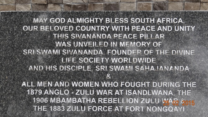 Durban 5 Day Tour; Monument in Eshowe