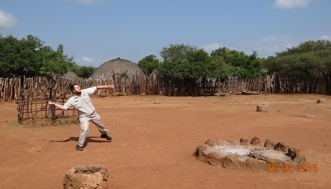 Durban 5 Day Tour; Spear throwing with the Zulus