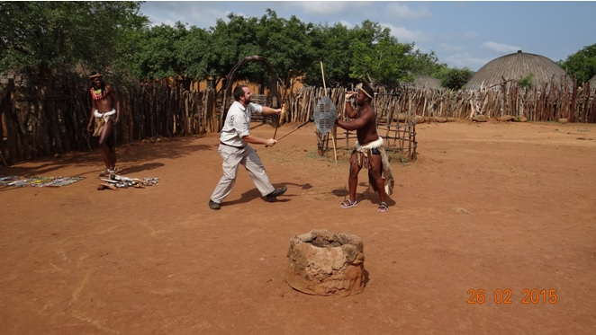 Durban 5 Day Tour; Stick fighting with the Zulus