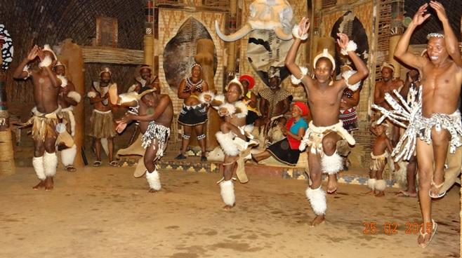Durban 5 Day Tour; Zulu Dancing