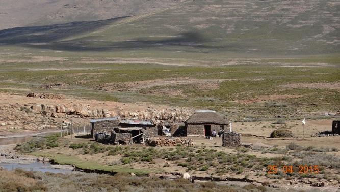 Sani pass drakensberg day tour; Basotho homes
