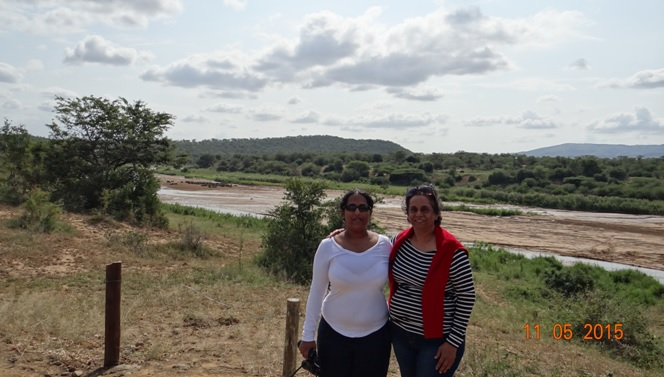 Durban day safari tour; My happy clients