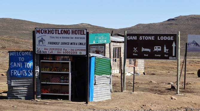 Sani Pass Tour; Shop in Lesotho