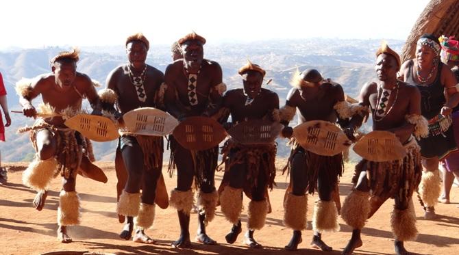 Tala day tour; Shakas small shield dance