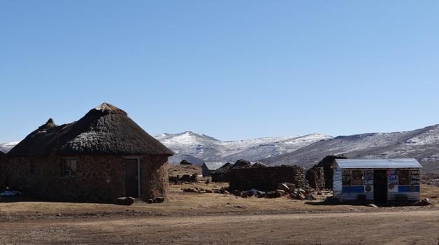 Drakensberg tour, Snow in the Drakensberg