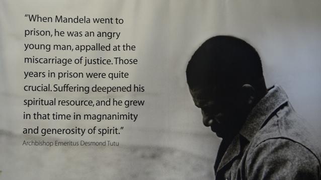 Durban midlands tour; Mandela grows in prison