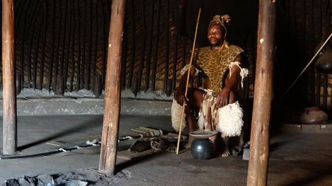 Durban day safari tour; Zulu Chief