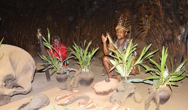 Shakaland tour; Nyanga and Sangoma