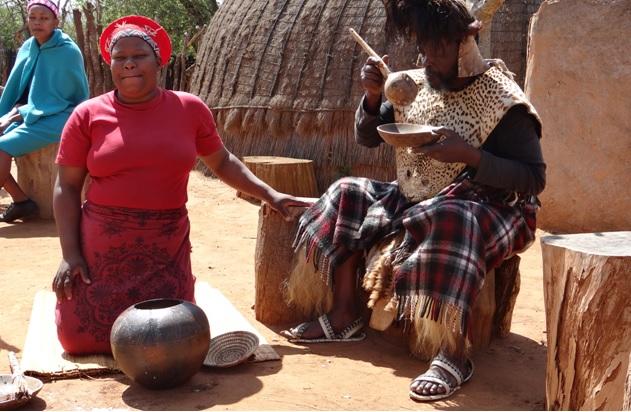 Shakaland tour; Sampling of the Zulu Beer
