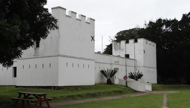 African safari tour; Fort Nongqayi museum in Eshowe