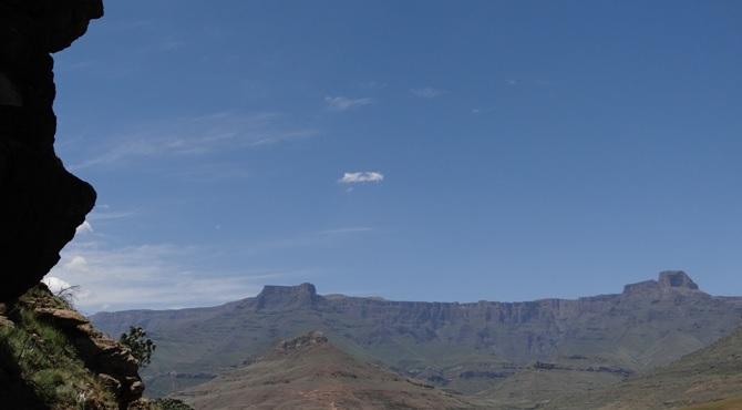 Drakensberg tour; Amphetheatre
