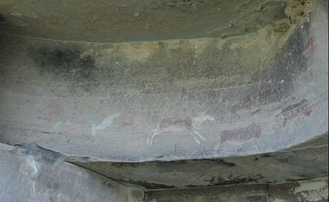 Drakensberg tour; San rock art