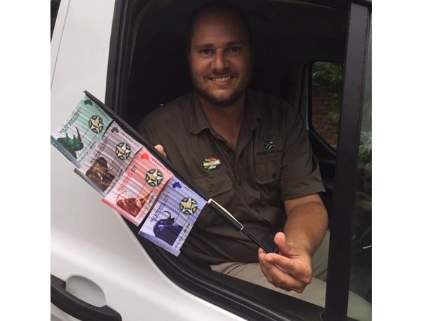 Durban safari tour; 4 of the Big 5