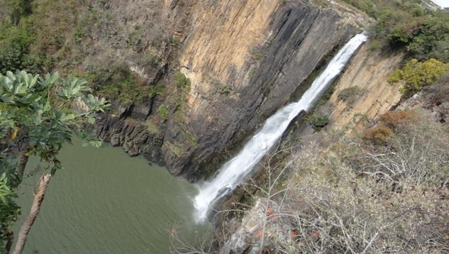 Drakensberg tour, Howick falls