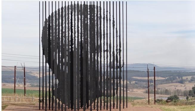 Drakensberg tour, Nelson Mandela capture site, Tweedie