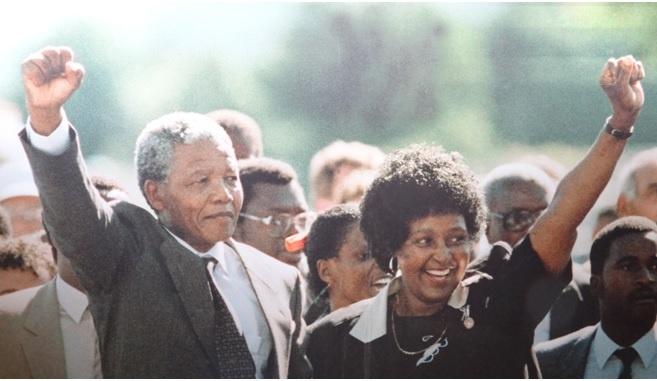 Drakensberg tour, Nelson Mandela walks free
