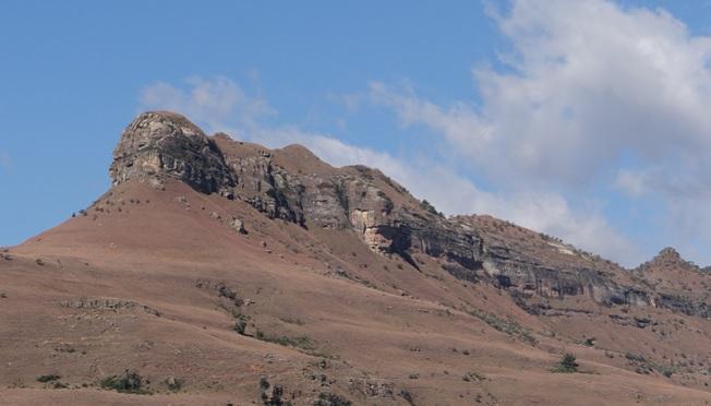 Drakensberg tour, Sleeping beauty in Royal Natal national park